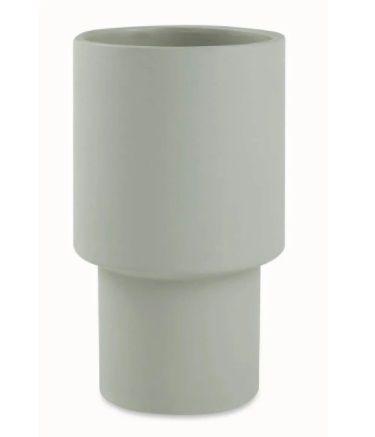 Cachepot em cimento - 25x 15 cm