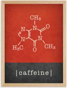 Quadro fórmula do café com moldura - 42x 33 x 4,0 cm