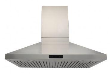 Coifa Ômega 75 Profissional, Filtro Inercial, Capacidade sucção 1.100m³/h, Aço Inox 304-Evol