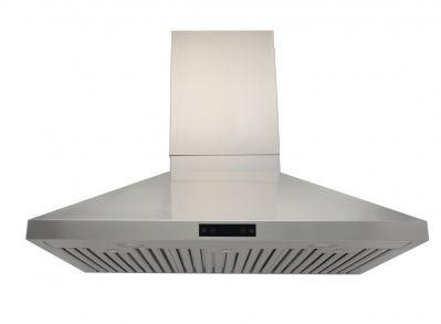Coifa Ômega 90 Profissional, Filtro Inercial, Capacidade sucção 1.100m³/h, Aço Inox 304-Evol