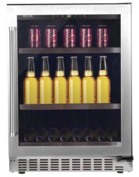 Cervejeira 135 Litros, 3 Prateleiras de ferro chromado, Modo Festa, Temperatura de 5 a -9 Graus, Porta Direita-220 V- Evol