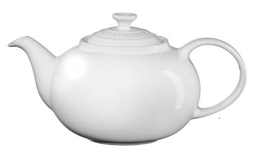 Bule de Cerâmica 1,3 L Branco- Lê Creuset