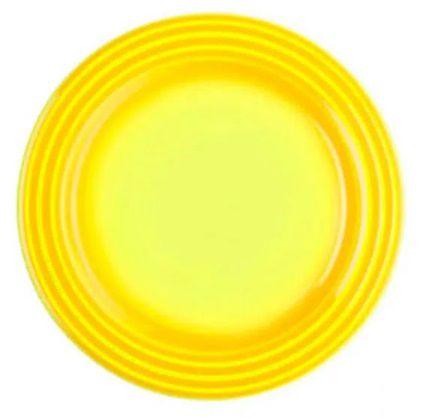 Prato raso em Cerâmica, Amarelo Soleil- Lê Creuset