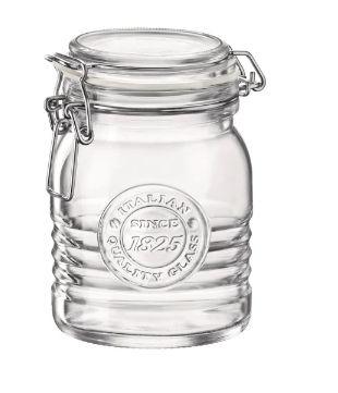 Pote de vidro 1825