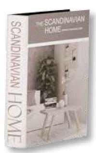 Livro Caixa Home M - 19X04X27 cm