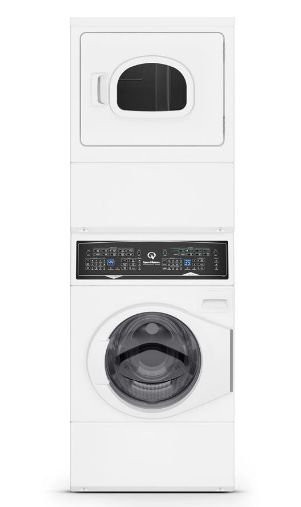 Lavadora e Secadora Conjugada Residencial Branco Speed Queen - Elétrica - 127V