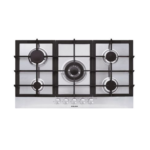 COOKTOP MATRIX INOX GLEM - 86CM 4,0KW - MC CENTRAL