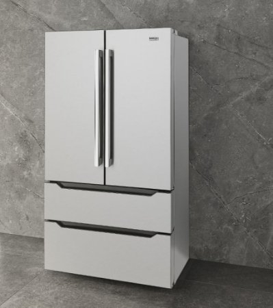 Refrigerador French door, 636 litros, ICE MAKER,  piso ou embutido, Inverter, 127V - Tecno