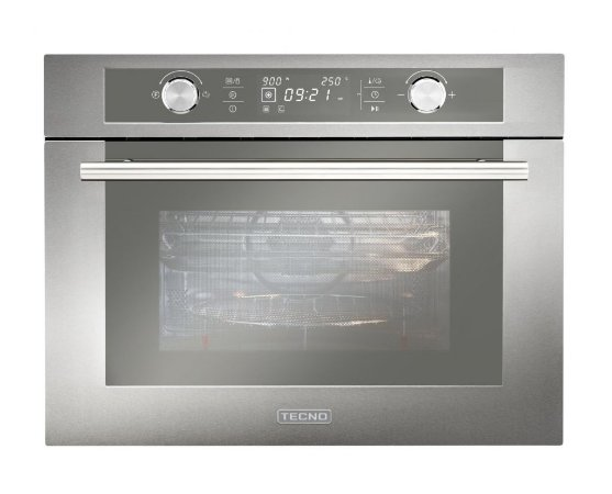 Forno combinado (micro-ondas + Multifunção) de embutir, 44 litros, com grill, 220V, Professional - Tecno