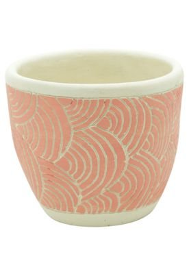 Vaso Concreto Rosa - 14,5 x 14,5 x 12,5 cm