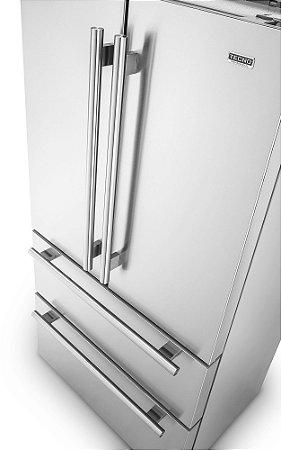 Refrigerador French door, 545 litros, Ice Maker, 2 gavetas freezer, painel na porta, Inverter, 127V Professional - Tecno