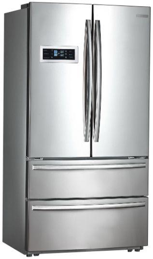 Refrigerador French Door, 590 litros, Inox, Inverter, Ice Maker, Crissair, 127V