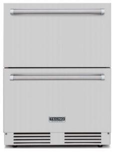 Gaveta refrigerada, totalmente em INOX - Outdoor - 135 litros, Professional -Tecno