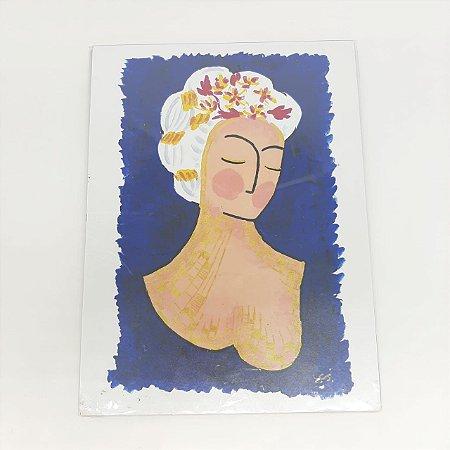 Obra de Arte Frida Inverno  - Artista Cristovão CCS.