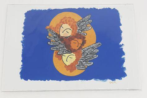 Obra de arte-Danielle , Roberta e Debora - Artistas Cristovão CCS