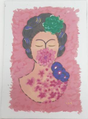 Ímã de geladeira -Frida