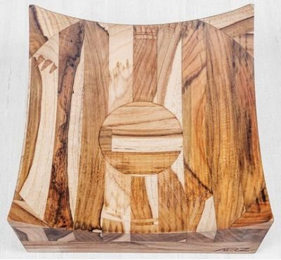 Bowl Pacaembú Madeira Teca  - ARZ Home Design