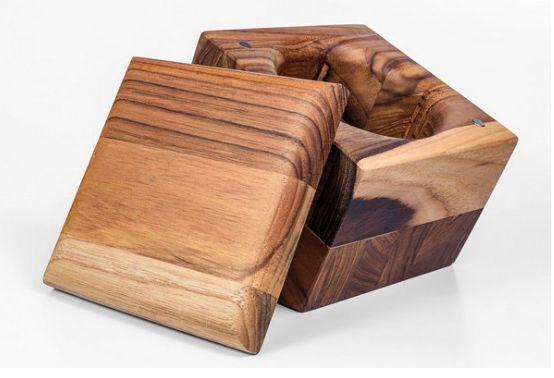 Saleiro Caré -  Madeira Teca- ARZ Home Design