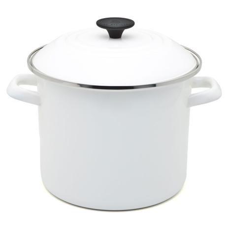 Panela Stock Pot Branco 22 cm - Le Creuset
