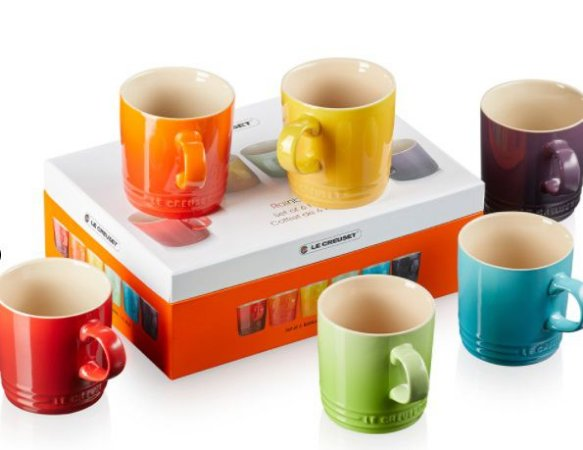 Set 6 Canecas Chá 350ml Gift Collection - Le Creuset