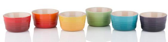 Set 6 Mini Ramekins 100ml Gift Collection -Lê Creuset
