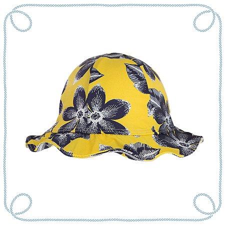 Chapéu infantil - Orquídea