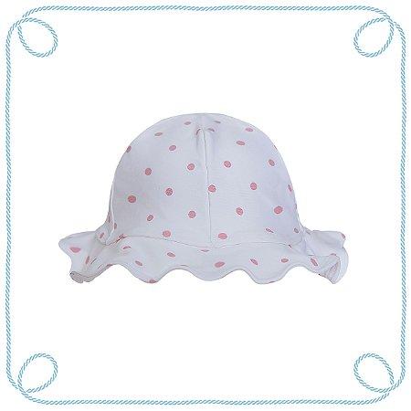 Chapéu infantil - Poá