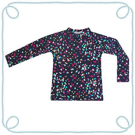 Camiseta Confete - manga longa