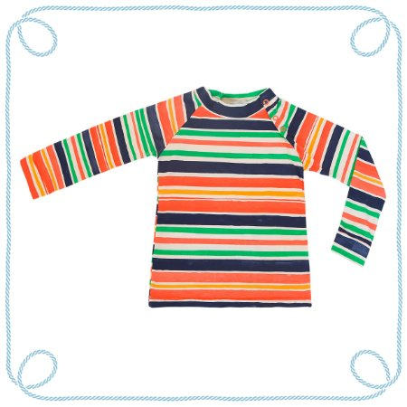 Camiseta Listras - manga longa