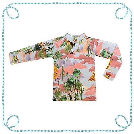 Camiseta Cactos (com proteção UV)