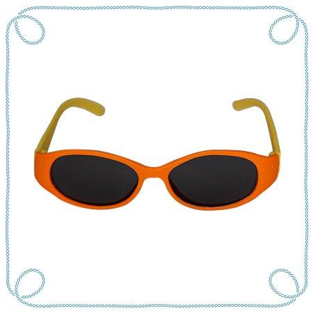 Óculos de sol baby laranja e amarelo