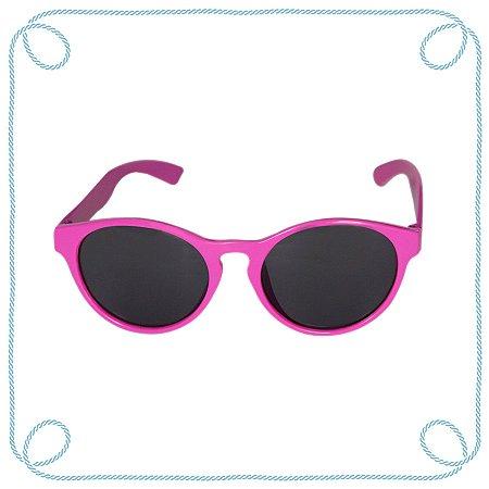Óculos de sol infantil rosa (gatinho)