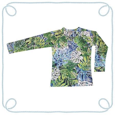 Camiseta Tropical (com proteção UV)