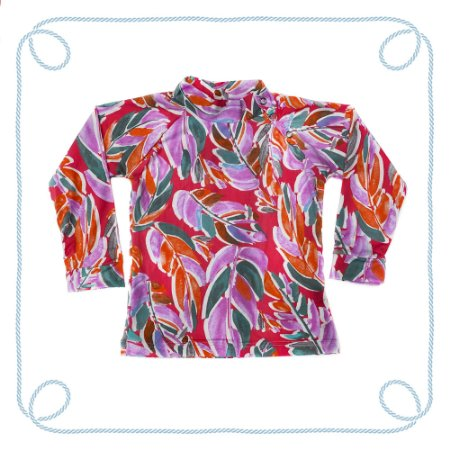 Camiseta infantil com proteção UV - Pintar