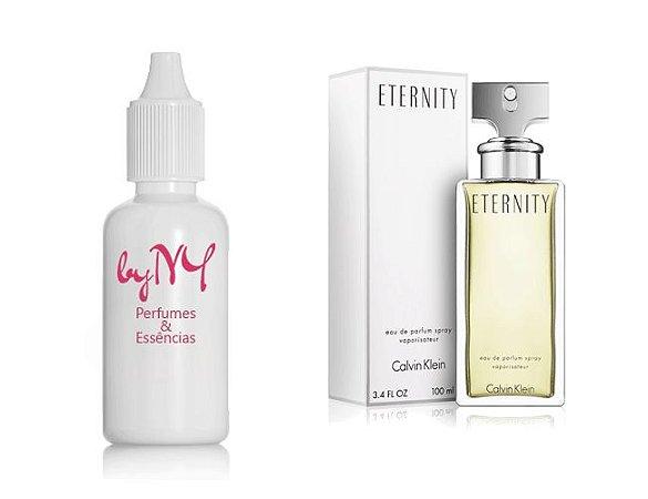 Essência Importada Feminina Inspirada Eternity Calvin Klein