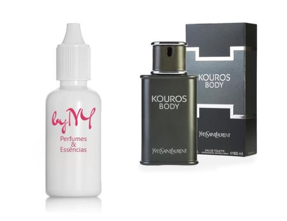 Essência Importada Masculina Body Kouros Yves Saint Laurent