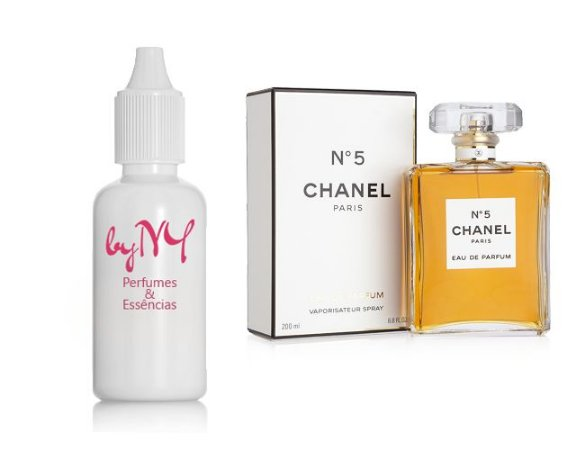 Essência Importada Feminina Inspirada Nº5 Chanel