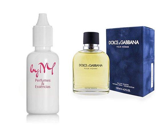 Essência Importada Masculina Inspirada Dolce & Gabbana Pour Homme