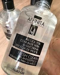 Álcool Gel Antisséptico Affinitá
