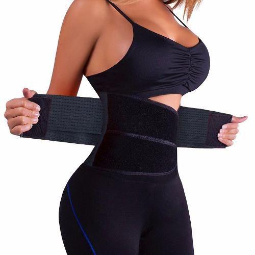Cinta Modeladora Abdominal Térmica Ajustável Hot Belt Power HB