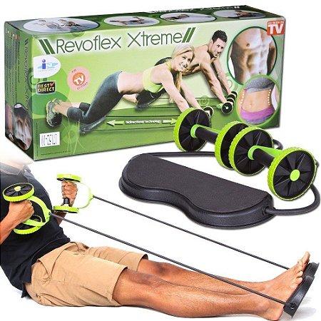 Revoflex Roda Para Exercício Abdominal Xtreme Exercise Whell