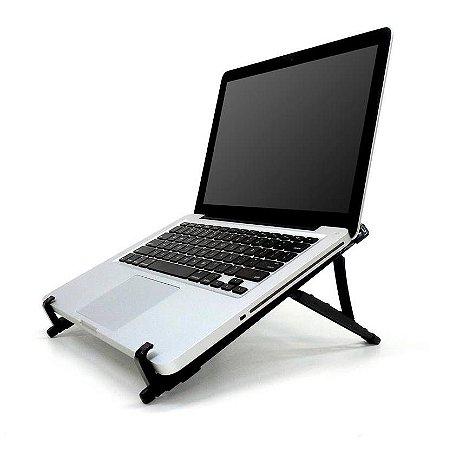Suporte Ergonomico Regulável NR17 de Mesa para Notebook Laptop Reliza 0026