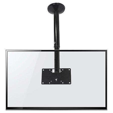 Suporte de Teto para TV LED LCD Curva 3D com Giro e Inclinação 19 a 56 Polegadas SKY30 Multivisão