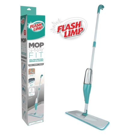 Mop Spray Fit Inteligente Vassoura Rodo com Microfibra Flash Limp MOP0556
