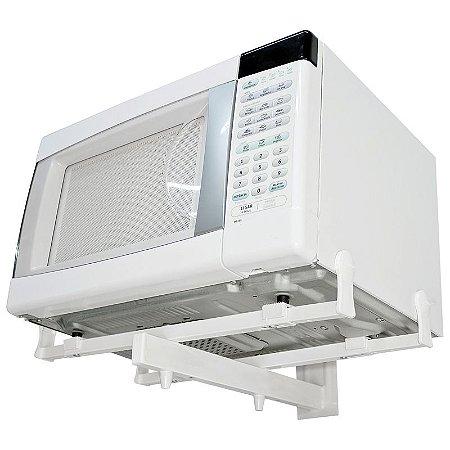 Suporte de Parede para Forno Microondas Elétrico F200-BR Branco Multivisão