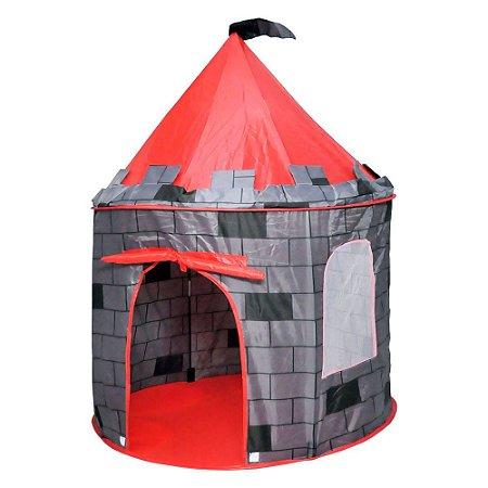 Barraca Castelo Torre Infantil Meninos Toca Tenda Super Grande Dm Toys DMT5391