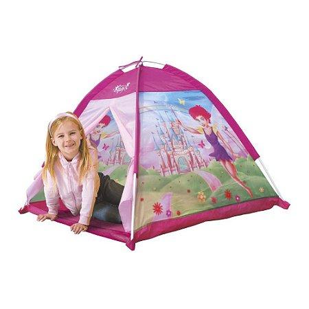 Barraca Fadinha Feliz Infantil Meninas Toca Dobravel Tenda Dm Toys DMT5654