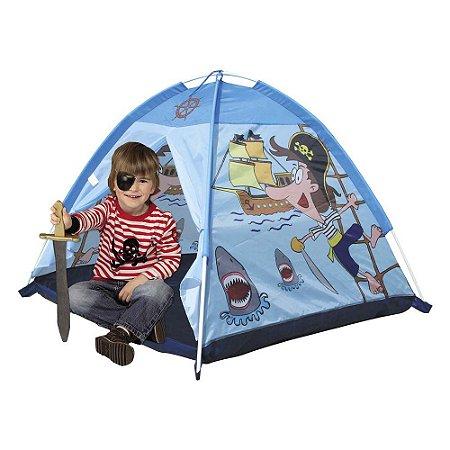 Barraca Esconderijo Pirata Infantil Meninos Toca Dobravel Tenda Dm Toys DMT5655
