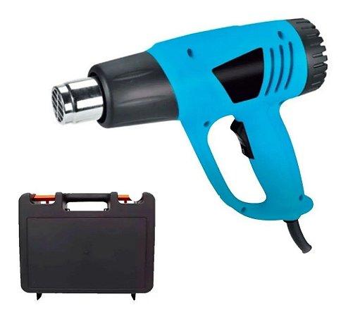 Soprador Termico 2000w 60hz Pistola de Ar Quente com Maleta Importway