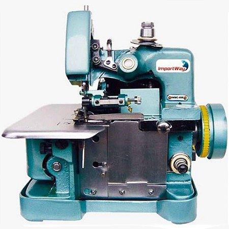 Overlock Máquina de Costura Semi Industrial Portátil 3 Linhas Importway